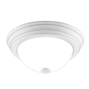 Shown in White Lustre finish, Small size, lit