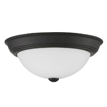 Shown in Matte Black finish, Medium size, unlit
