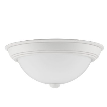 Shown in White Lustre finish, Medium size, unlit