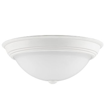 Shown in White Lustre finish, Large size, unlit