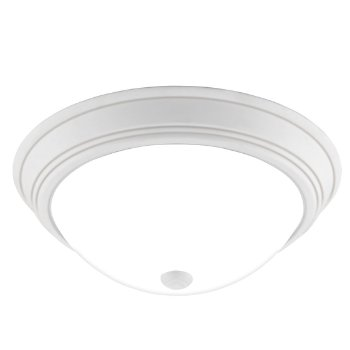 Shown in White Lustre finish, Large size, lit