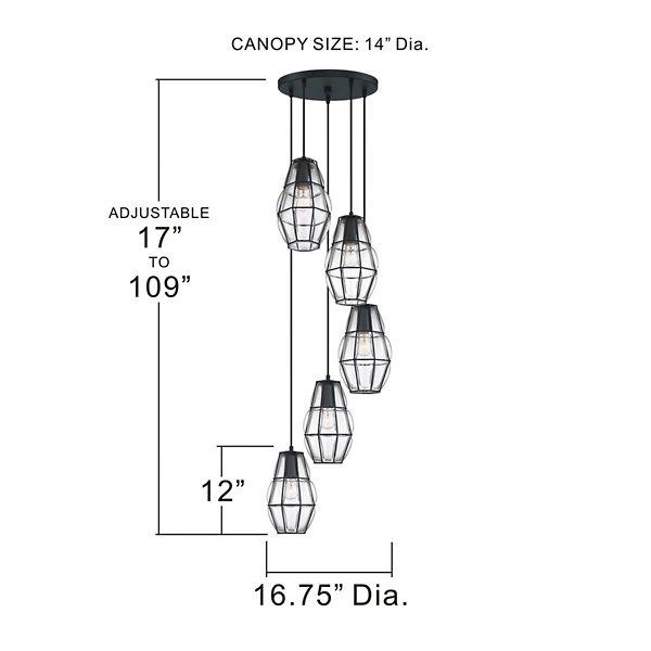 Blythe Multi-Light Pendant