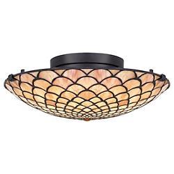 Tiffany LED Flushmount