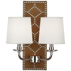WILLIAMSBURG Lightfoot Wall Sconce (Ochre/Nickel) - OPEN BOX