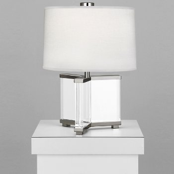 Fineas Crystal Table Lamp By Robert Abbey At Lumens Com