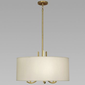 Shown in Antique Brass w/ Taupe Shade
