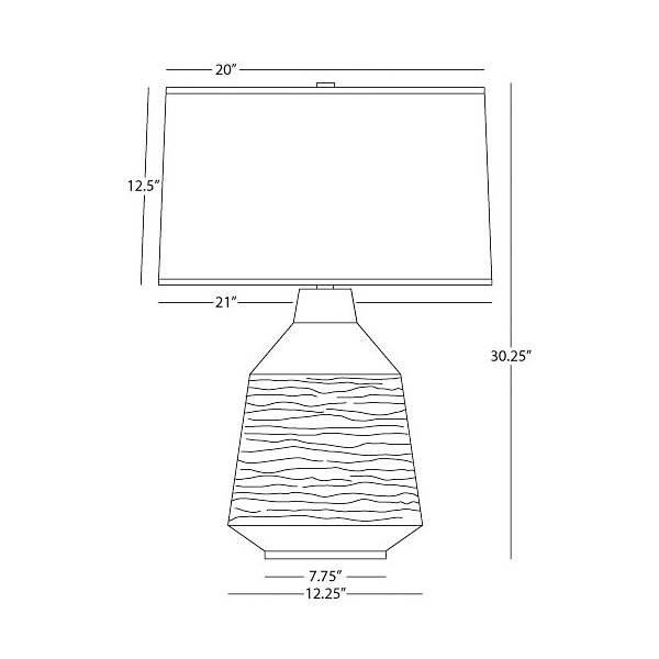 Berkley Vessel Table Lamp