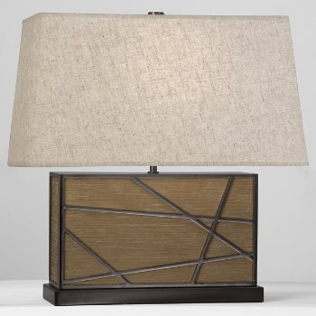 Bond Wide Table Lamp