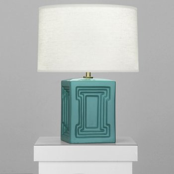 Shown in Mayo Teal finish