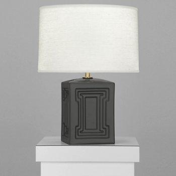 Shown in Lamp Black finish