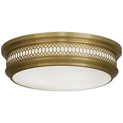 Williamsburg Tucker Flushmount (Brass/Large) - OPEN BOX