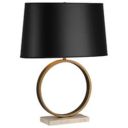 Logan Table Lamp (Brass with Black) - OPEN BOX RETURN