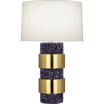 Shown in Polished Purple Stone Accents finish