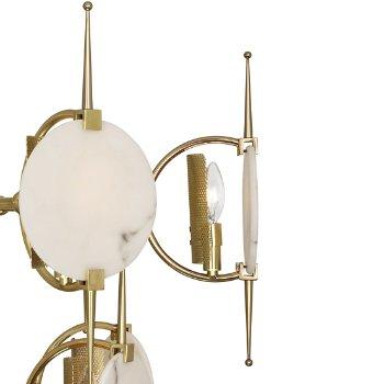 Shown in Modern Brass finish, Detail view