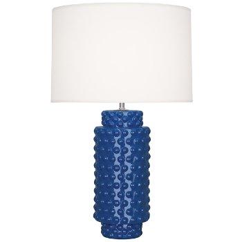 Shown in Midnight Blue Glazed Textured Ceramic finish