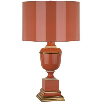 Shown in Tangerine Lacquered Paint with Tangerine Shade finish