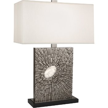 Shown in Antiqued Polished Nickel finish with Pearl Shade color, Standard size