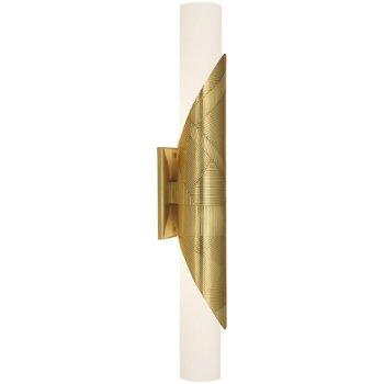 Shown in Modern Brass finish