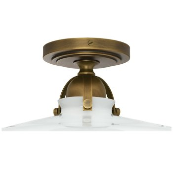 Shown in Warm Brass finish, front view