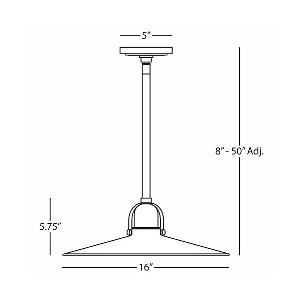 Arial Pendant