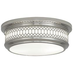 Williamsburg Tucker Flushmount (Nickel/S) - OPEN BOX RETURN