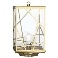 Bond Outdoor Post Mount (Modern Brass) - OPEN BOX RETURN
