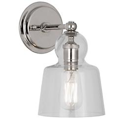 Albert Wall Sconce (Polished Nickel) - OPEN BOX RETURN