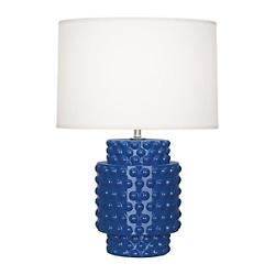 Dolly Accent Lamp (Marine Blue Ceramic) - OPEN BOX RETURN