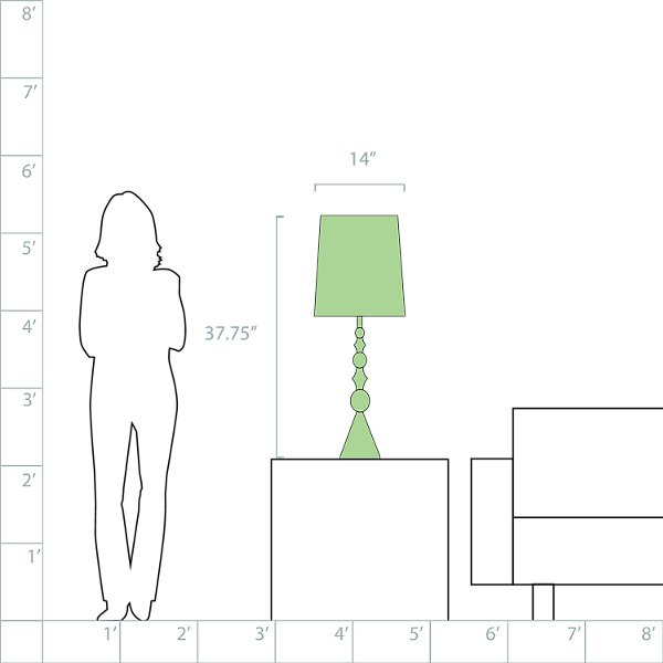 Harlequin Table Lamp