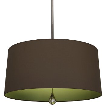 Shown in Revolutionary Storm Shade with Parrot Green Interior, Polished Nickel finish