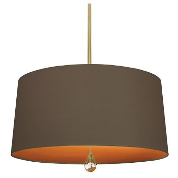 Shown in Revolutionary Storm Shade with William of Orange Interior, Modern Brass finish