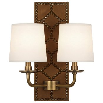 Shown in English Ochre color, Aged Brass finish