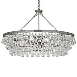3 Foot Chain for the Bling Large Chandelier (Nckel)-OPEN BOX