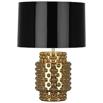 Dolly Metallic Small Table Lamp