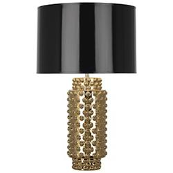 Dolly Metallic Table Lamp