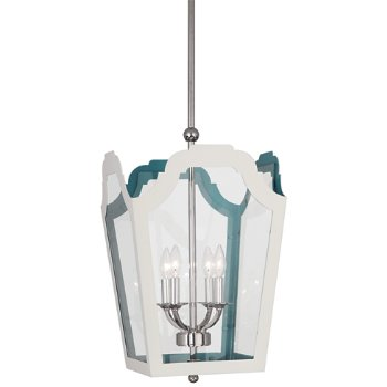 Shown in White Exterior & Turquoise Interior, Small size