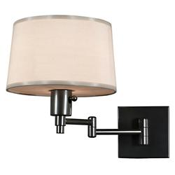 Real Simple Swing Arm Wall Sconce (Gunmetal) - OPEN BOX