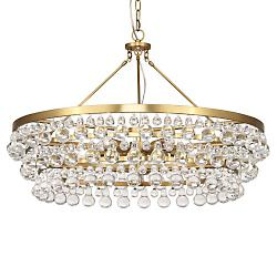 Bling Large Chandelier (Antique Brass) - OPEN BOX RETURN