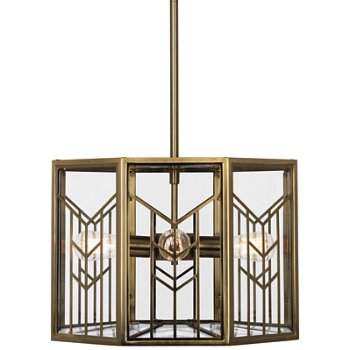 Shown in Modern Brass finish