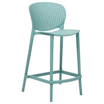 Shown in Surfin Blue, Counter Height