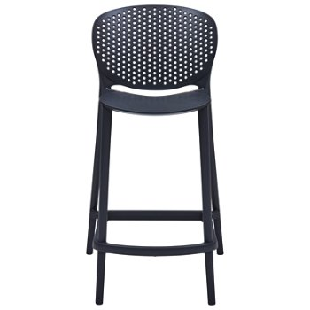Shown in Black Grey, Counter Height
