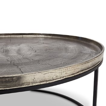 Shown in Vintage Silver