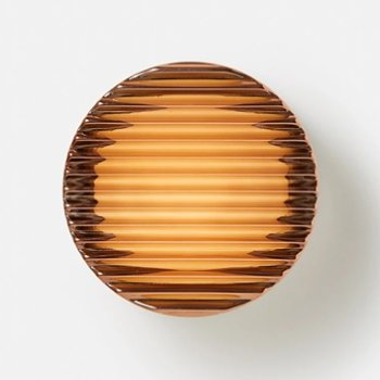 Shown in Copper finish, lit