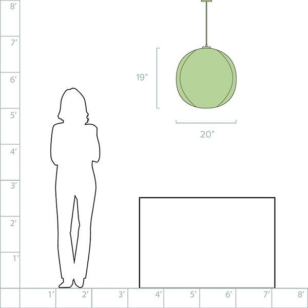 Mori Squash Pendant
