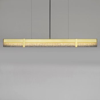 Level Crush LED Linear Pendant
