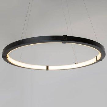 Shown in Blackened Steel finish, Medium size