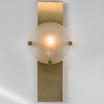 Lunette 3-Prong Rectangular Wall Sconce
