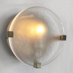 Lunette Round Wall Sconce