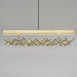 Level Criss Cross LED Linear Suspension