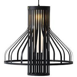 Fibre Light Funnel Pendant